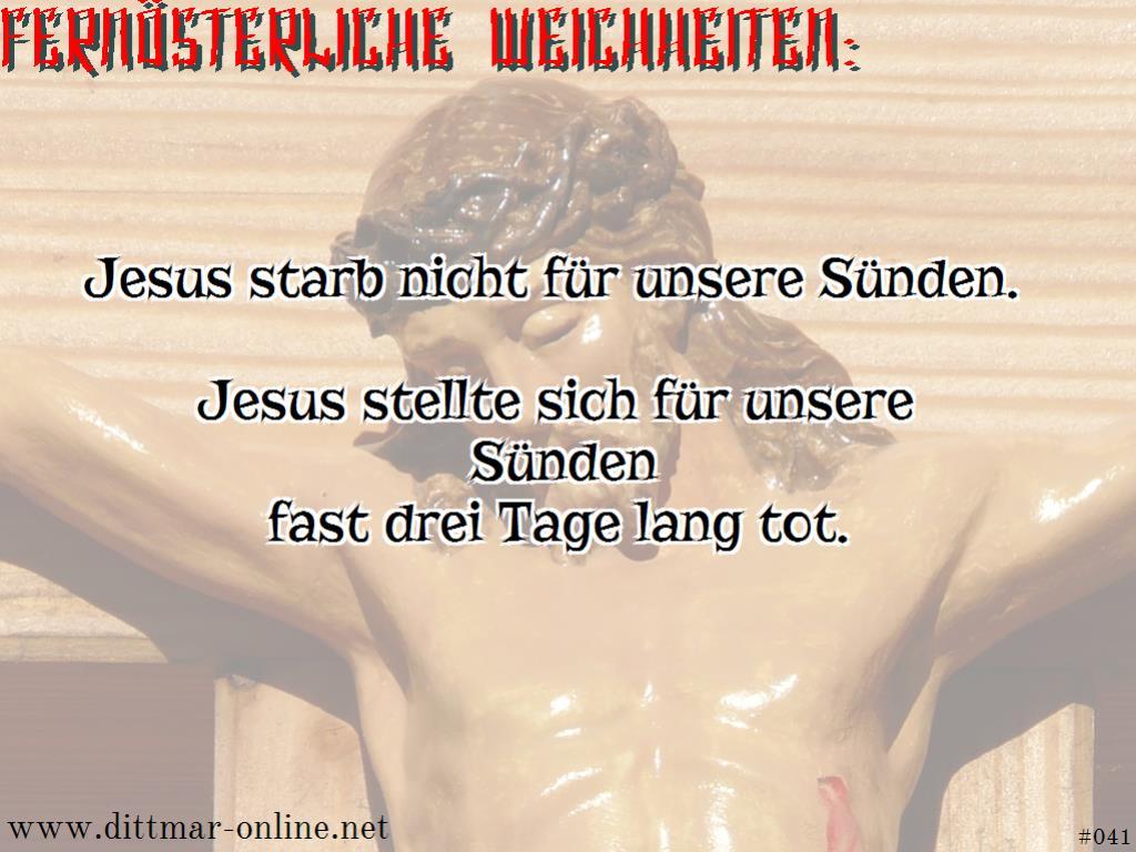 Ein Christ, der einen Atheisten als Sünde bezeichnet